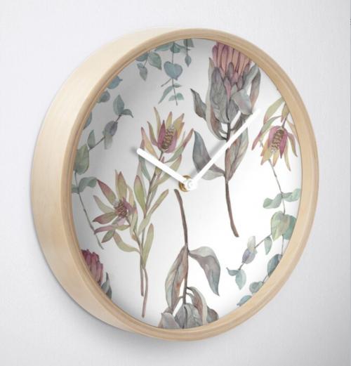 bamboo clock
