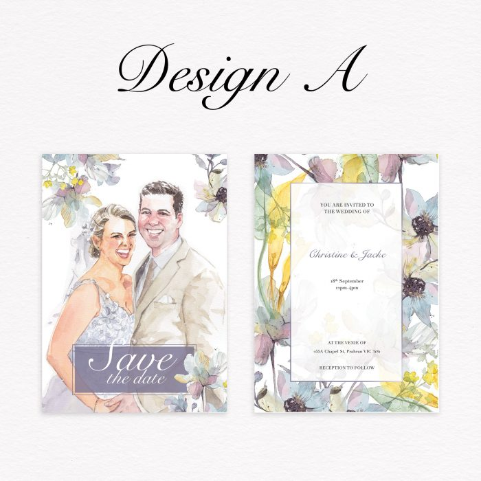 wedding invitation design
