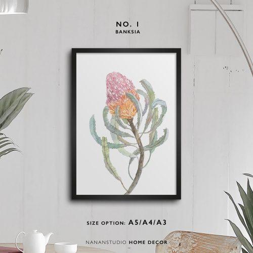 print art banksia